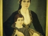 Collection: Leventio Museum - 1st to 7th Pictures<br><br>Painting with detail of traditional Cypriot Costume.